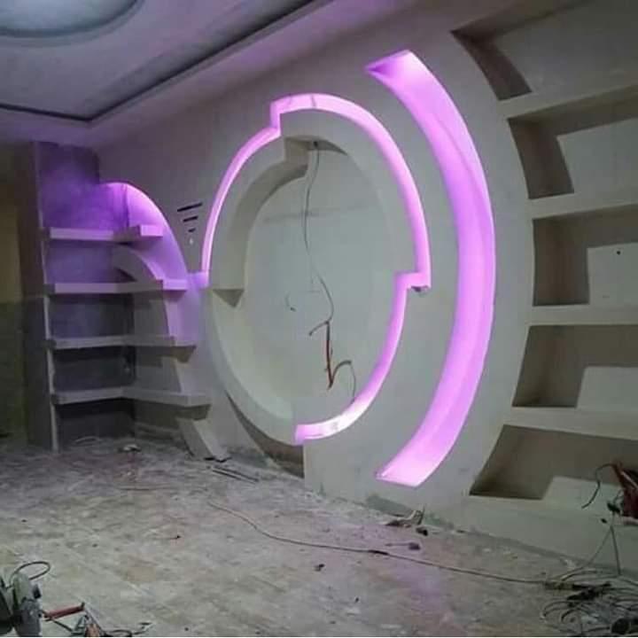 Tv Wall Designs Gypsum Ceiling, False Ceiling Design For tv Design