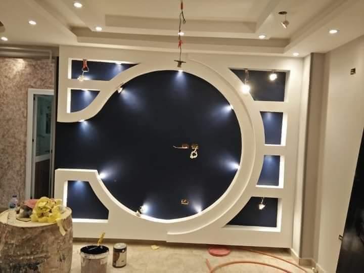 New top Tv Wall Designs | Wall Designs False Ceiling